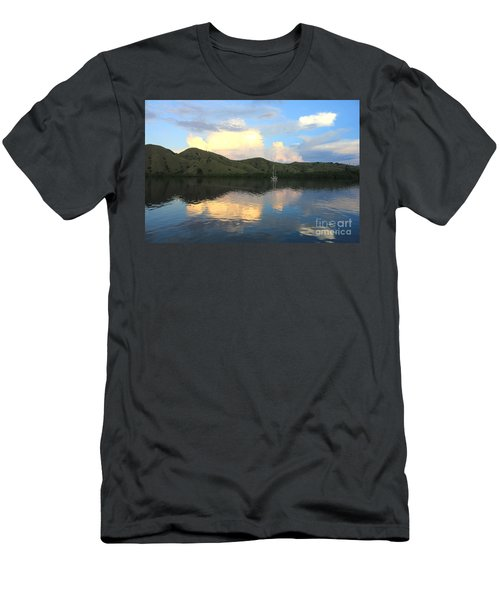 Men's T-Shirt (Slim Fit) featuring the photograph Sunset On Komodo by Sergey Lukashin