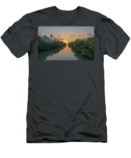 Sunset On Sarasota Bay Men's T-Shirt (Athletic Fit)