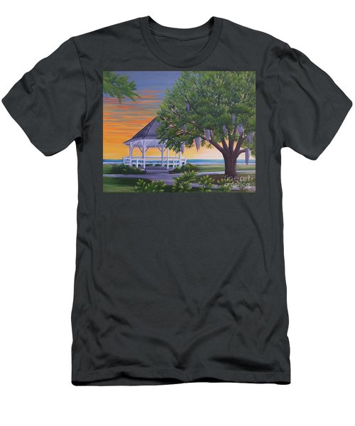 Sunset On The Gazeebo Men's T-Shirt (Athletic Fit)