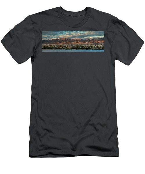 Sunset Over Havasu Men's T-Shirt (Athletic Fit)