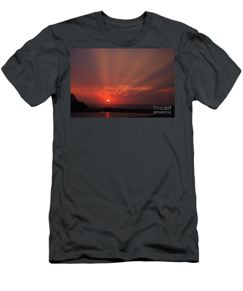 Sunset Over Hope Island 2 Men's T-Shirt (Athletic Fit)