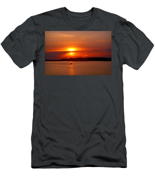 Sunset Over Lake Ozark Men's T-Shirt (Athletic Fit)