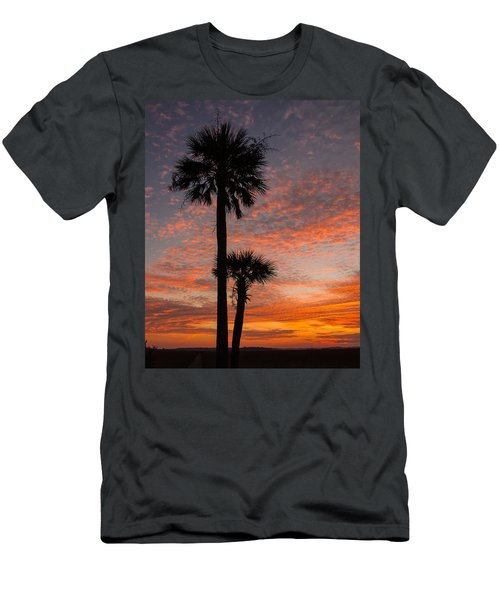Sunset Over Marsh Men's T-Shirt (Athletic Fit)