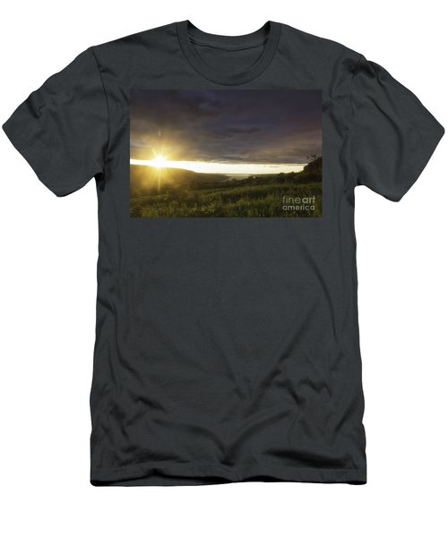 Sunset Over Skaneateles Men's T-Shirt (Athletic Fit)