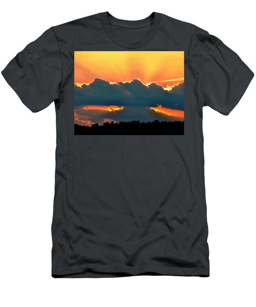 Sunset Over Southern Ohio Men's T-Shirt (Athletic Fit)