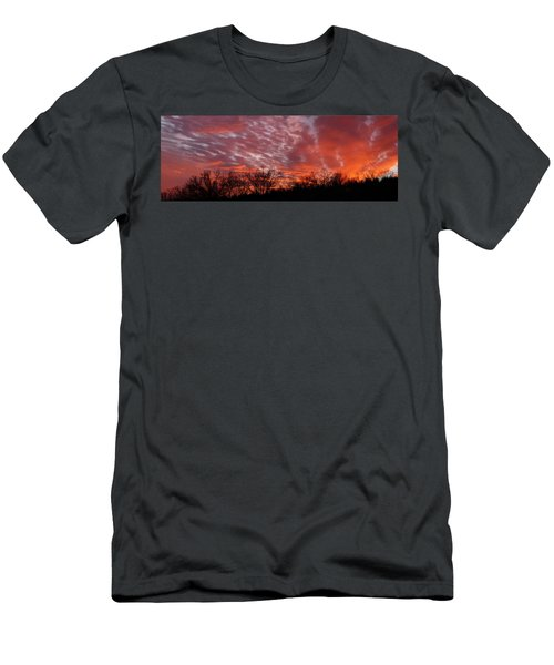 Sunset Panorama Men's T-Shirt (Athletic Fit)