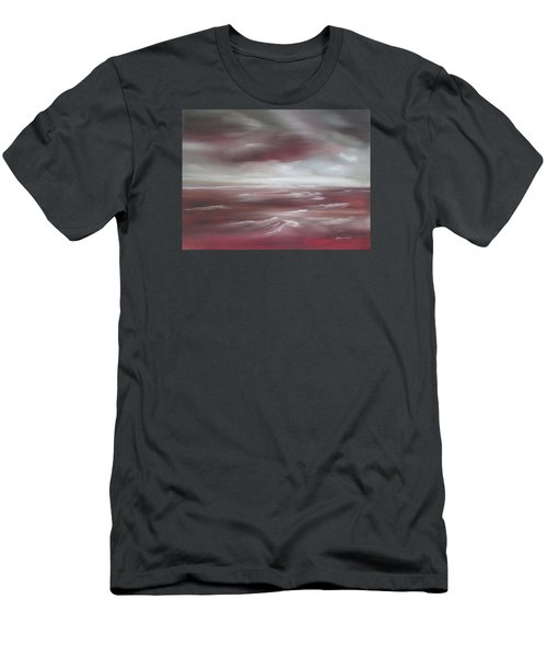 Sunset Sea Men's T-Shirt (Athletic Fit)