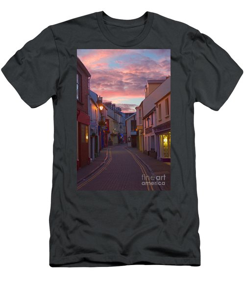 Sunset Street Men's T-Shirt (Athletic Fit)