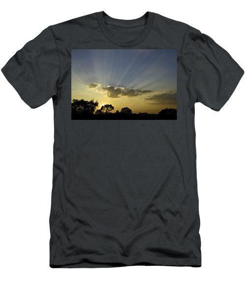 Sunset Sunrays Men's T-Shirt (Athletic Fit)