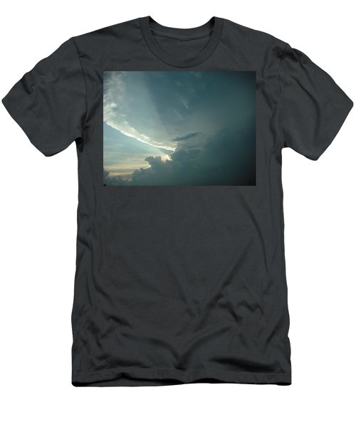 Men's T-Shirt (Slim Fit) featuring the photograph Sunset Supercell by Ed Sweeney