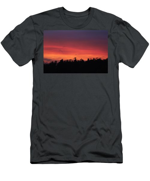 Sunset Tones Men's T-Shirt (Athletic Fit)