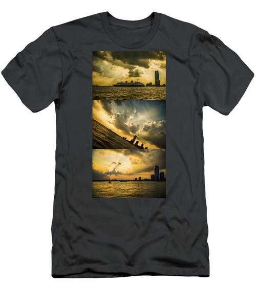 Sunset Trilogy Men's T-Shirt (Athletic Fit)