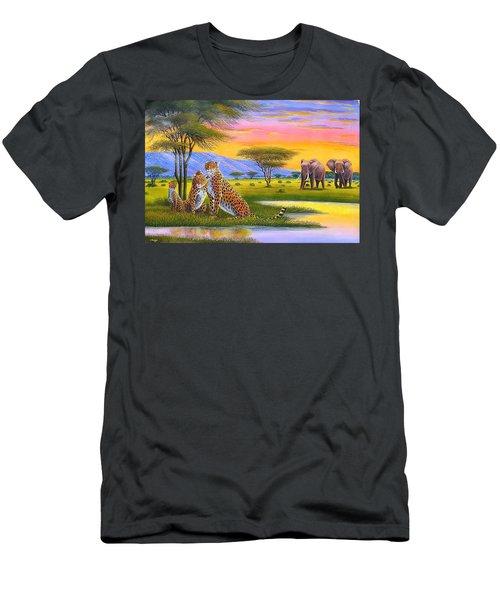Sunset Watch Men's T-Shirt (Athletic Fit)