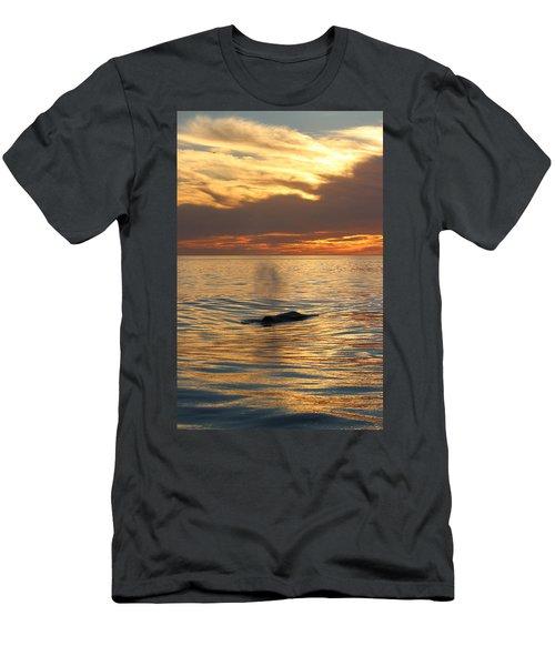Sunset Wonder Men's T-Shirt (Athletic Fit)