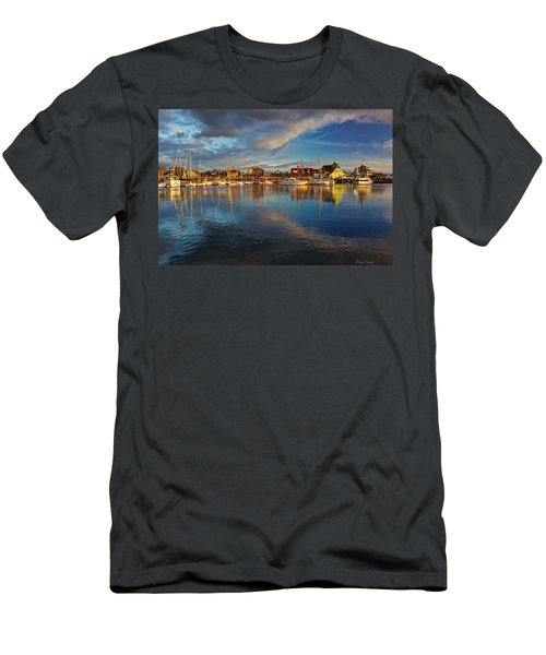 Sunset's Warm Glow Men's T-Shirt (Athletic Fit)