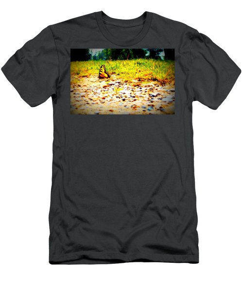 Sunshine Butterfly Men's T-Shirt (Athletic Fit)
