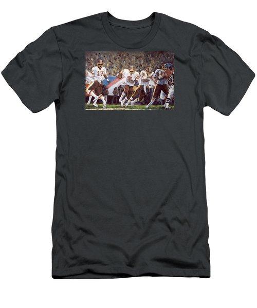 Superbowl Xii Men's T-Shirt (Slim Fit) by Donna Tucker