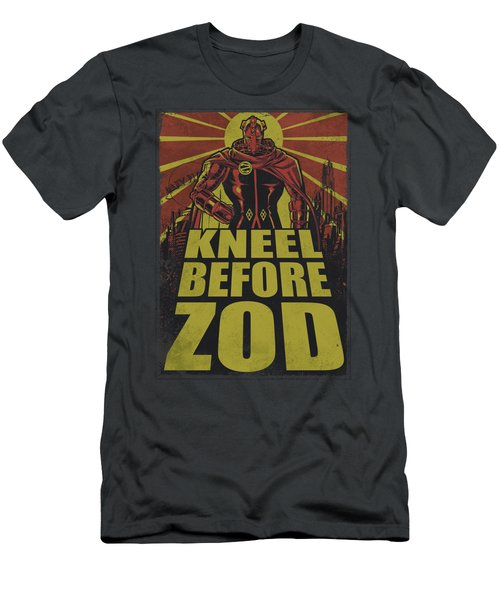 Superman - Zod Poster Men's T-Shirt (Athletic Fit)