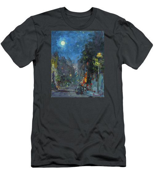 Supermoon 2014 Men's T-Shirt (Athletic Fit)