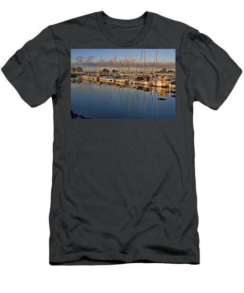 Men's T-Shirt (Slim Fit) featuring the photograph Sur La Mer by Gary Holmes