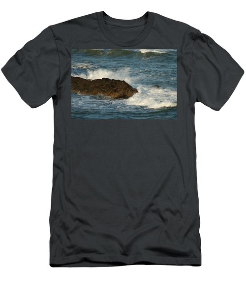 Surf And Rocks Men's T-Shirt (Athletic Fit)