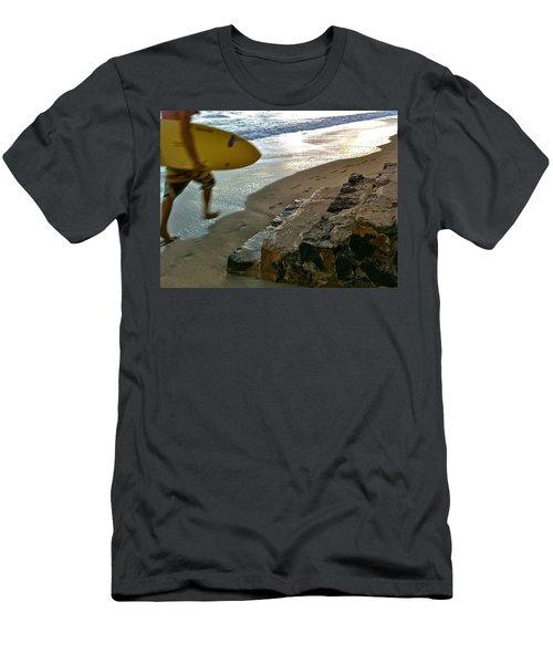 Surfer In Motion Men's T-Shirt (Athletic Fit)