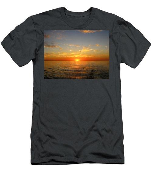 Surreal Sunrise At Sea Men's T-Shirt (Athletic Fit)