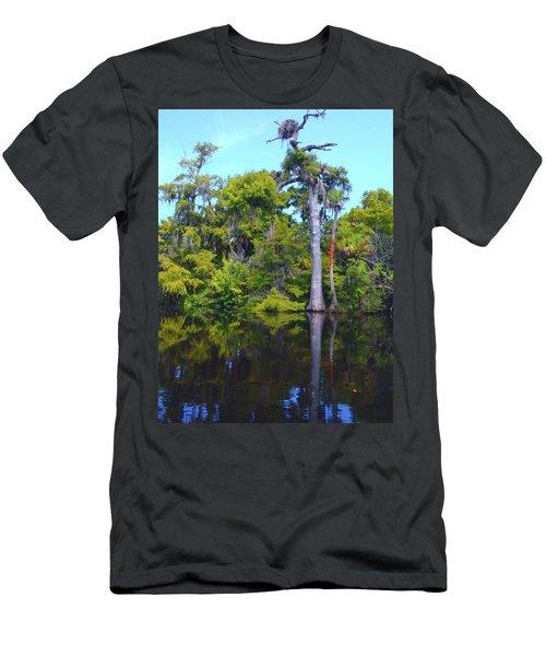 Swamp Land Men's T-Shirt (Athletic Fit)