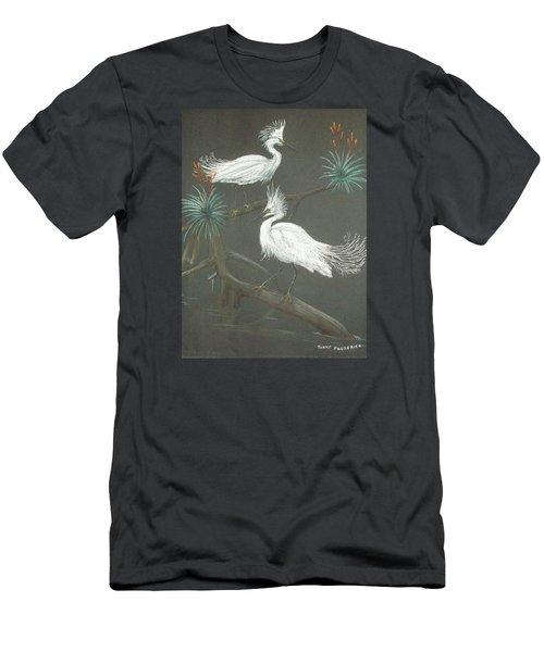 Swampbirds Men's T-Shirt (Slim Fit) by Terry Frederick
