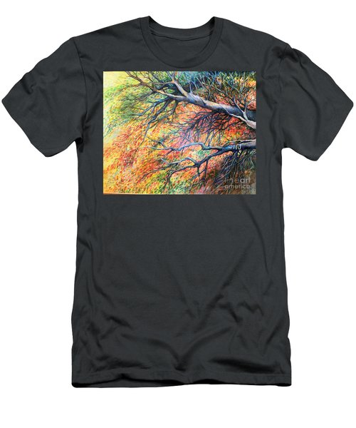 Sway Dancing Trees Men's T-Shirt (Athletic Fit)