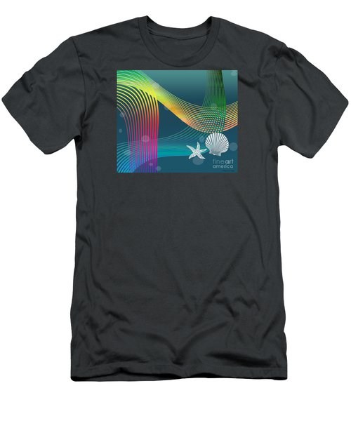 Sweet Dreams2 Abstract Men's T-Shirt (Athletic Fit)