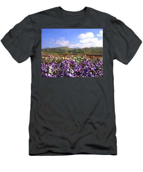 Sweet Peas Galore Men's T-Shirt (Athletic Fit)
