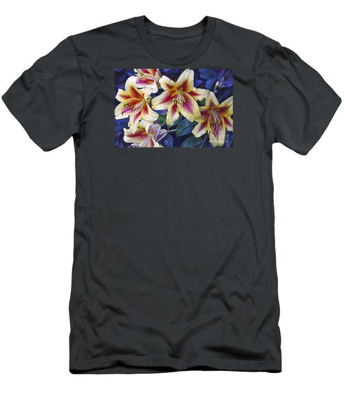 Men's T-Shirt (Slim Fit) featuring the photograph Sweet Summer Time  by Juls Adams
