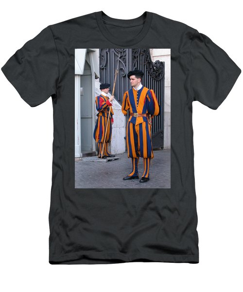 Swiss Guard Men's T-Shirt (Athletic Fit)