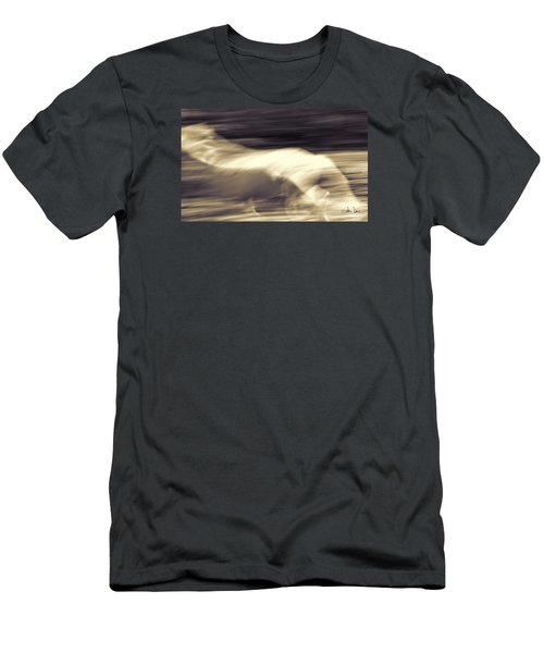 Men's T-Shirt (Slim Fit) featuring the photograph Synchronicity by Joan Davis