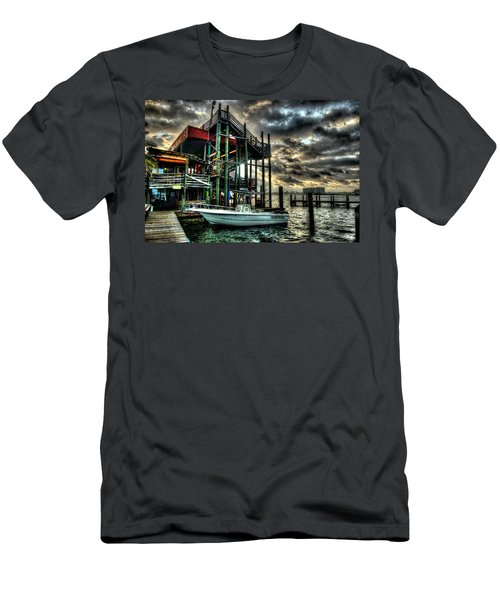 Men's T-Shirt (Slim Fit) featuring the digital art Tacky Jack Morning by Michael Thomas