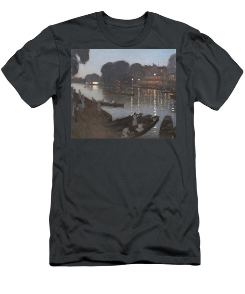 Tagg's Island  Men's T-Shirt (Athletic Fit)