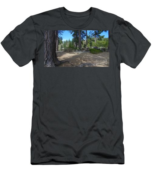 Men's T-Shirt (Slim Fit) featuring the photograph Tahoe's Summer Invitation by Bobbee Rickard