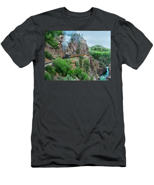 Taking The Highline Home Men's T-Shirt (Athletic Fit)