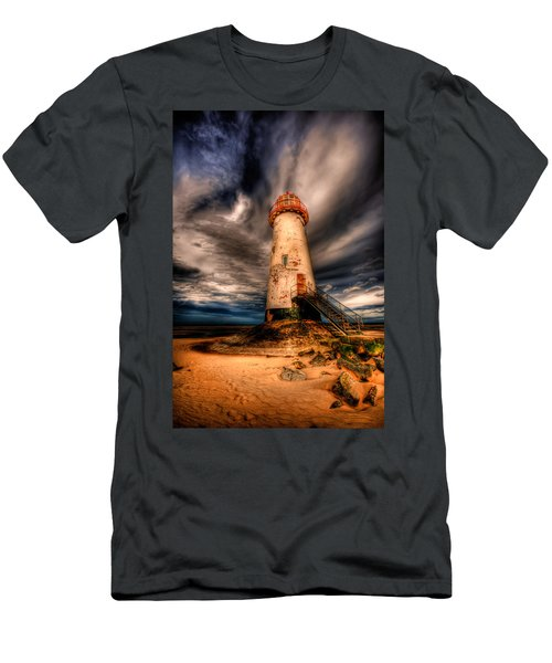 Talacre Lighthouse Men's T-Shirt (Athletic Fit)