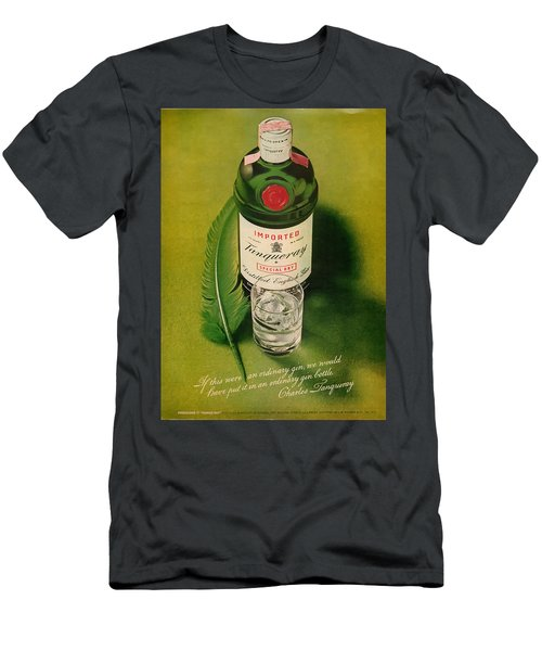 Tanqueray Gin Men's T-Shirt (Athletic Fit)