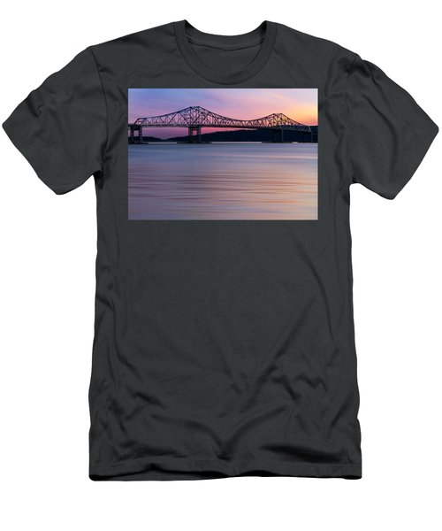 Tappan Zee Bridge Sunset Men's T-Shirt (Athletic Fit)