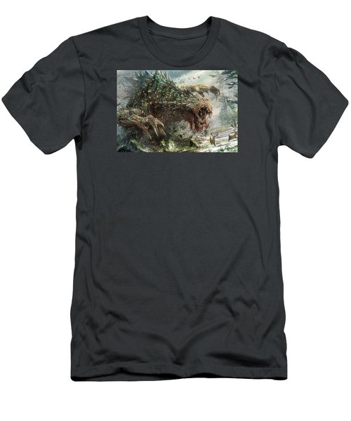 Tarmogoyf Reprint Men's T-Shirt (Athletic Fit)