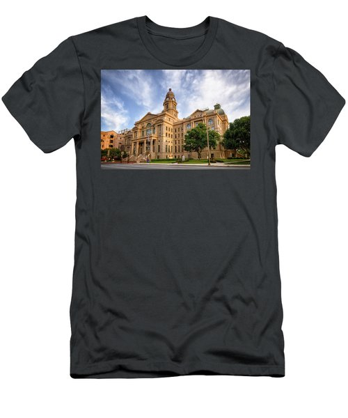 Tarrant County Courthouse II Men's T-Shirt (Athletic Fit)