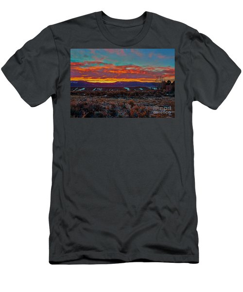 Taos Sunrise Men's T-Shirt (Athletic Fit)