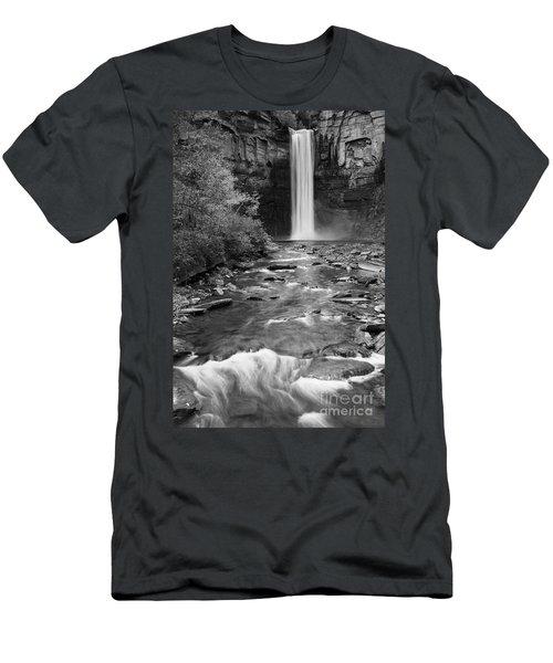 Taughannock Monochrome I Men's T-Shirt (Athletic Fit)