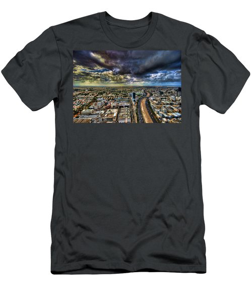 Tel Aviv Blade Runner Men's T-Shirt (Athletic Fit)