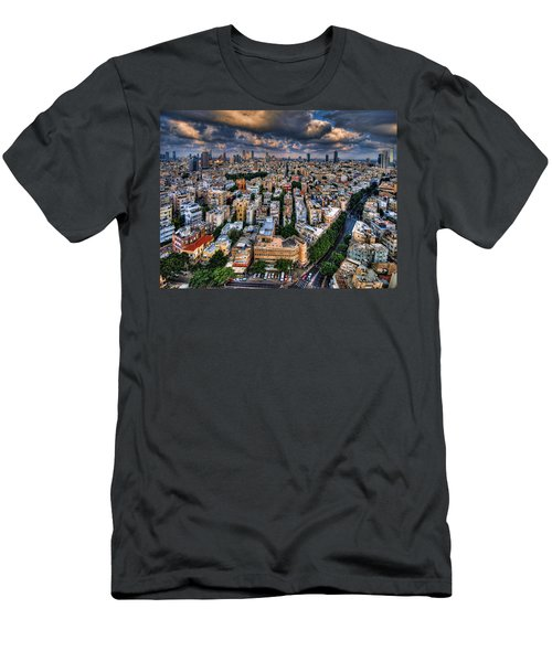 Tel Aviv Lookout Men's T-Shirt (Athletic Fit)