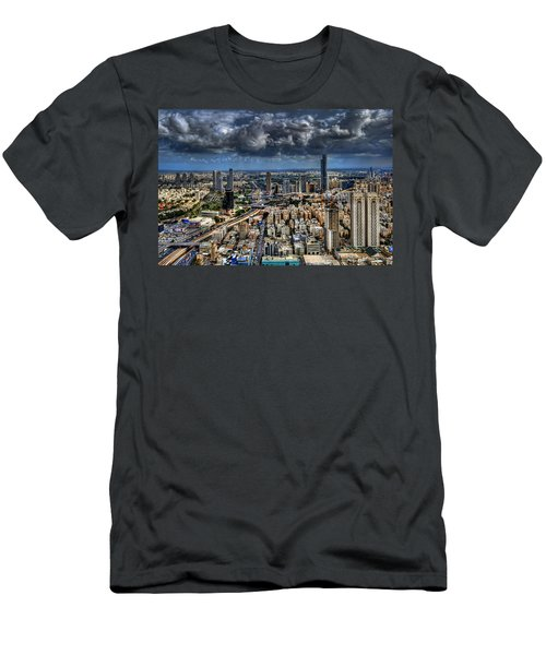 Tel Aviv Love Men's T-Shirt (Athletic Fit)
