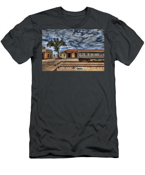 Tel Aviv Old Railway Station Men's T-Shirt (Athletic Fit)